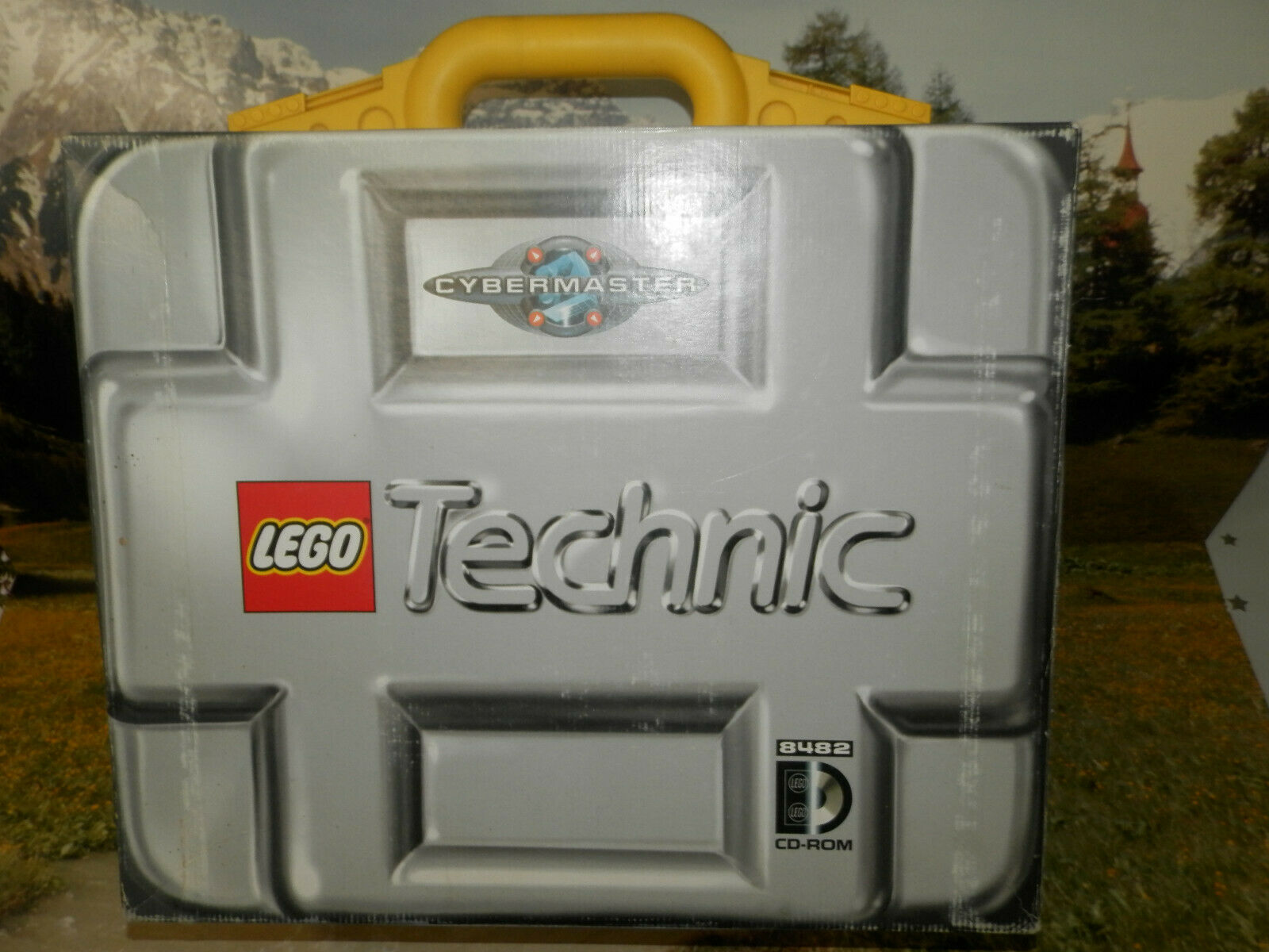 Raro Lego Technic Cyber Master 8482-Vintage Lego
