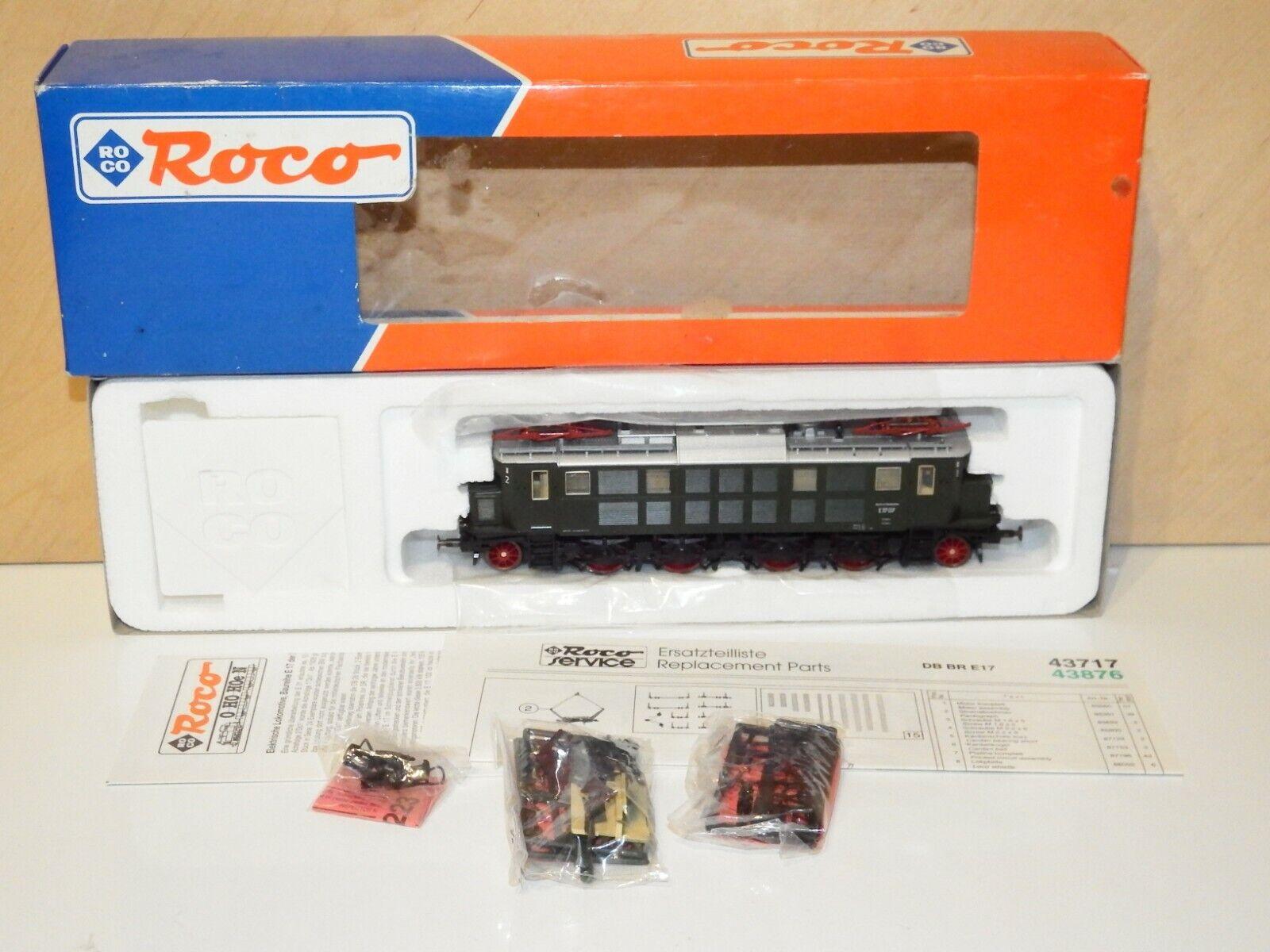 H0 43717 Roco Digital (adr 17) locomotora Dr br e17 07 OVP como nuevo 7960