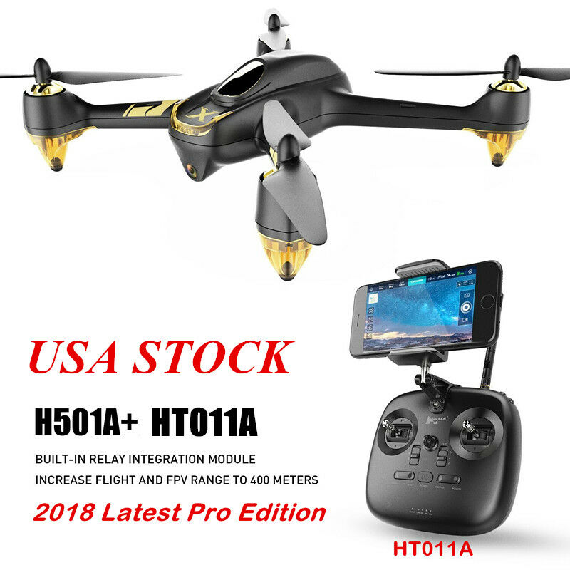 Hubsan  X4 H501A+ RC Quadcopter Wifi Brushless FPV 1080P GPS Follow Me Waypoint  per offrirti un piacevole shopping online