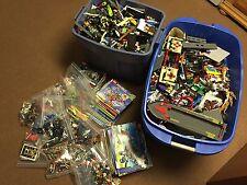 Huge Lego Lot 94 Lbs 390+ Minifigs City Ninjago 10229 60026 2507 7498 Minecraft