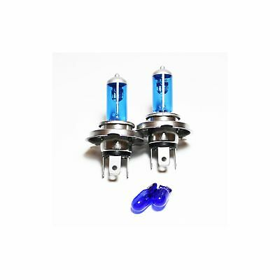 Dacia Duster 100w Clear Xenon HID High//Low//Side Headlight Bulbs Set