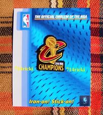 Official 2016 NBA Finals Champions Cleveland Cavaliers Ring Ceremony Patch