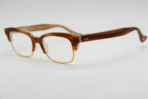 NEW-DITA-RIRE-DRX-3024-B-GLD-48-BROWN-AUTHENTIC-EYEGLASSES-RX-48-17