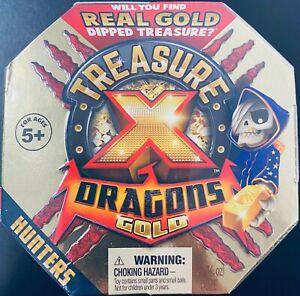 Lot Of 4 Treasure X Dragons Season 2 DRAGONS GOLD dipped hunters NEW SEALED
