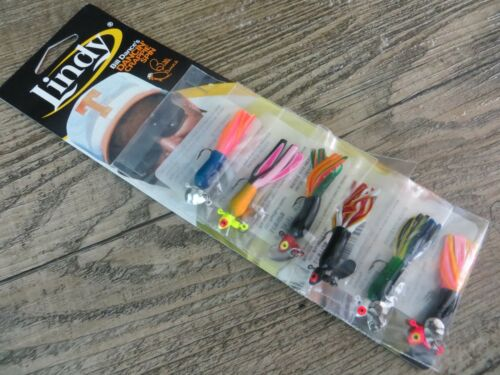 ICE FISHING JIG LINDY 1//32OZ DANCIN/' CRAPPIE SPIN JIG MULTI COLOR TUBES Details about  /6