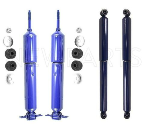 Front /& Rear Shock Absorber Kit Monroe-Matic Plus for Dodge Ram RWD 2002-2008