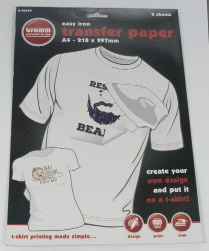 Image de fer facile papier de transfert