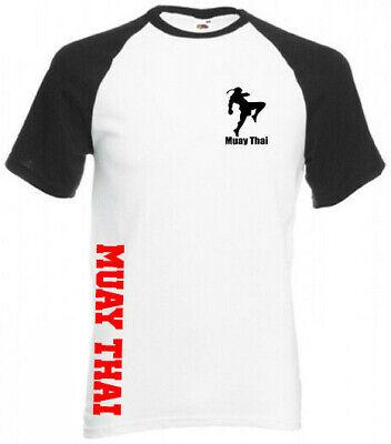 t-shirt maillot homme noir muay thai boxe thai sport de combat badboy venum ufc
