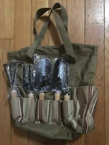 Gardener's Heavy Duty Tote with Tools - New