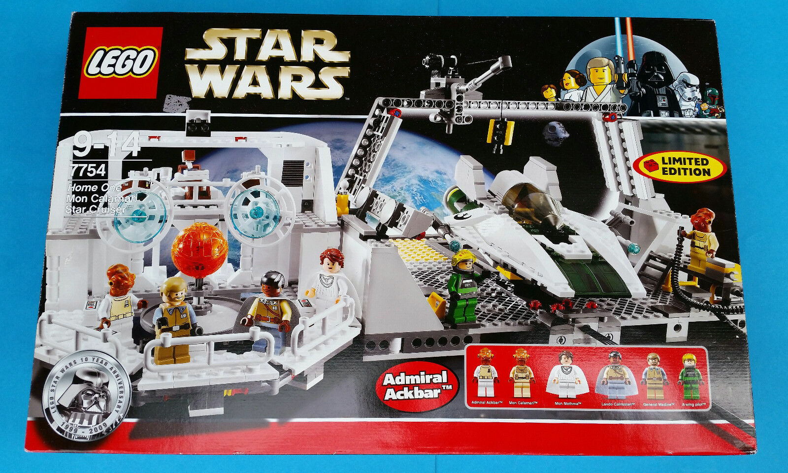 LEGO Star Wars Home One Mon Calamari Star Cruiser (7754)