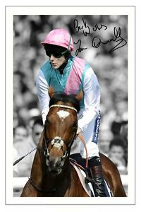 TOM-QUEALLY-FRANKEL-AUTOGRAPH-SIGNED-PHOTO-PRINT-POSTER-HORSE-RACING
