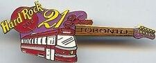Hard Rock Cafe TORONTO 1999 21st Anniversary PIN GUITAR 21st YEAR - HRC #10250