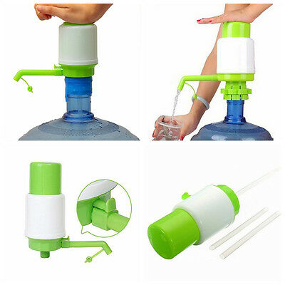 5-6 Gallon Hand Pump for Water Bottle Jug Manual Drinking Tap Spigot Camping TO