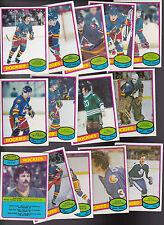 1980 OPC Team SET lot of 14 Colorado ROCKIES NM- o-pee-chee ROBERT Lanny McEWEN