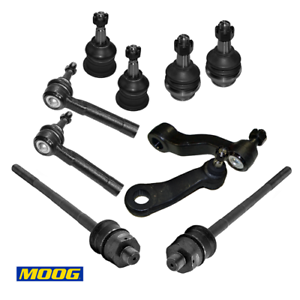 Moog Inner /& Outer Tie Rod End Kit 2002 Cadillac Escalade EXT ES3488 ES3493T