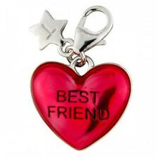 Silver Charm TINGLE LONDON BEST FRIEND HEART, Brand New, JEWELLERY, BOXED SCH240