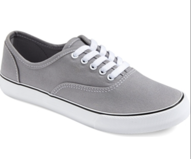 Buy Mossimo Womens Shoes Layla Canvas SNEAKERS Gray Target Supply Summer  Size 6 online  6e70afbb0449