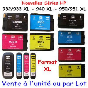 Cartouches-d-039-encre-compatibles-avec-HP-OfficeJet-6100-HP-932-933-XL