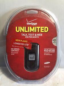 Samsung-Gusto-2-Gray-Verizon-Flip-Phone-BRAND-NEW