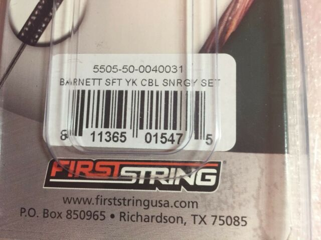 1 Pair for sale online First String Barnett Crossbow Cable Jackal