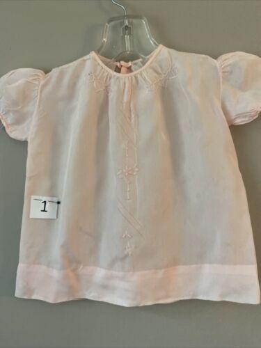 Lot of 4 Vintage Baby Girl Dresses