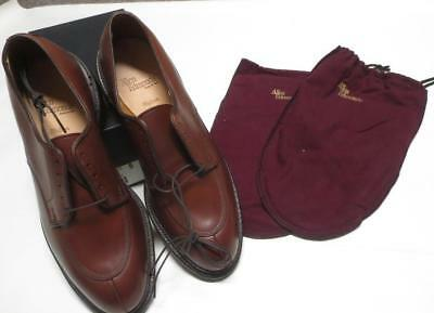 Mib Allen Edmonds Chestnut Walton Oxford Split Toe Shoes 9 12b N 2143 Ebay