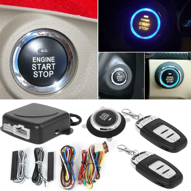 Car Alarm System With Passive Keyless Entry Remote Engine