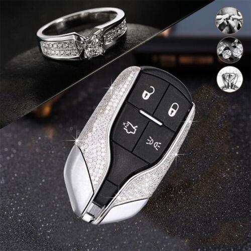 Diamond Car Key Case Cover Key Chain For Maserati Ghibli GT GC Levante GTS