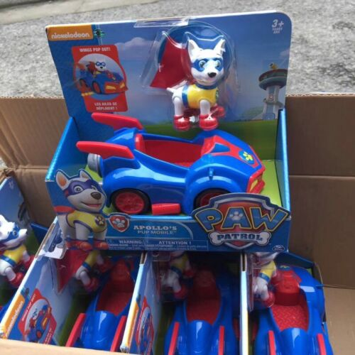 toy for kid 2-5 year patrol super pup apollo mobile vehicle /& action figure BNIB
