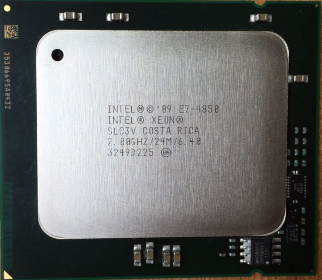 Intel Xeon E7-4850 2 GHz Ten Core (AT80615007449AA) SLC3V Processor