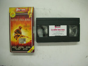 La-Sottile-Linea-Rossa-1997-VHS-Italiano