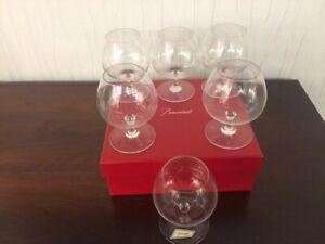 Verre à Cognac en cristal de Baccarat (7 verres disponible/Prix à la pièce)