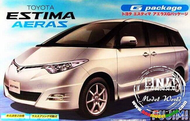Fujimi Model kit 1 24 Toyota Estima Aeras