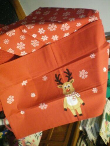 neuf par AVON Christmas Tea Towels x deux en pack..
