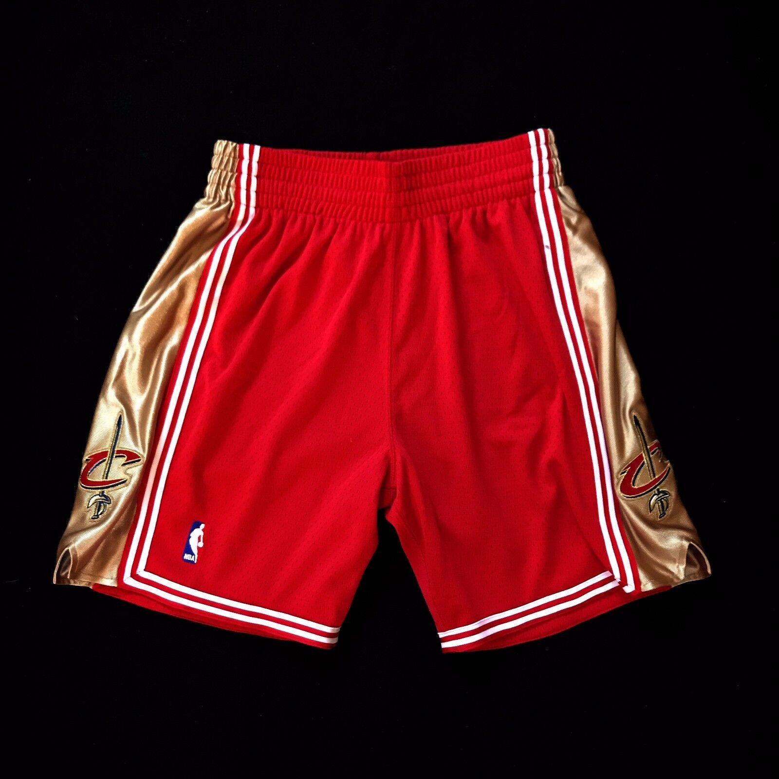 100% Authentisch Mitchell & Ness Kavaliere NBA Shorts Shorts Shorts Herren Größe M MEDIUM 40 e75ded