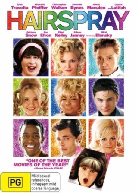 Hairspray (DVD)    John Travolta - Region 4 - New and Sealed