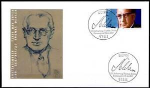 Frg-1997-Thomas-Dehler-FDC-Der-No-1963-With-Clean-Bonner-Stamp-20-05