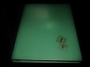 Vintage Stamps, WORLDWIDE COLLECTION, Green Stock Book With 550 Stamps, Used