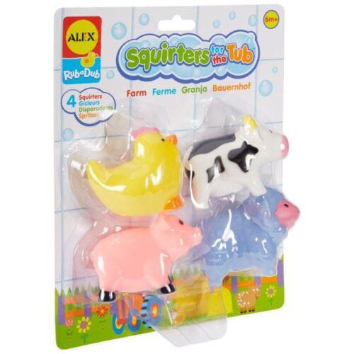 Bay Toy Alex Toys Rub Un Dub Squirters pour la baignoire-Farm 6m