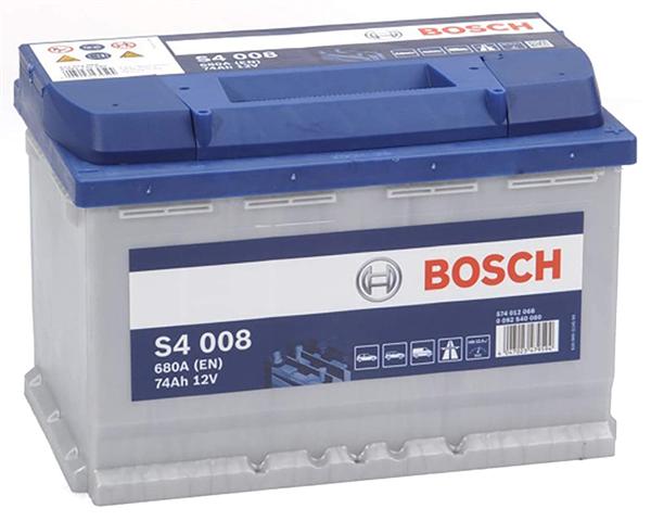 Batterie auto S4008 12V 74ah / 680A BOSCH L3 E11