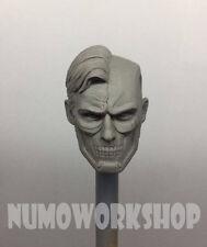 "Cyborg Superman Injustice ver. 1/6 Scale CUSTOM UNPAINT HEAD for 12"" Body Figure"