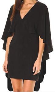 1272756a3dc1 CD  Funfash Plus Size Women Gothic Black Long Cape Sleeves V Neck ...