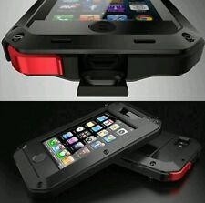 Fuerte Impermeable a prueba de impactos de Aluminio Gorilla Metal Cubierta para el iPhone 6/6s