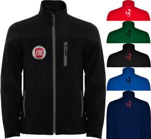 Details zu FIAT Abarth Softshell Jacket Travel Coat Veste Parka Blouson Christmas Gift