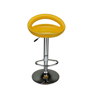 Sensational Details About Bar Stools Counter Height Leather Adjustable Swivel Hydraulic Pub Chair Andrewgaddart Wooden Chair Designs For Living Room Andrewgaddartcom