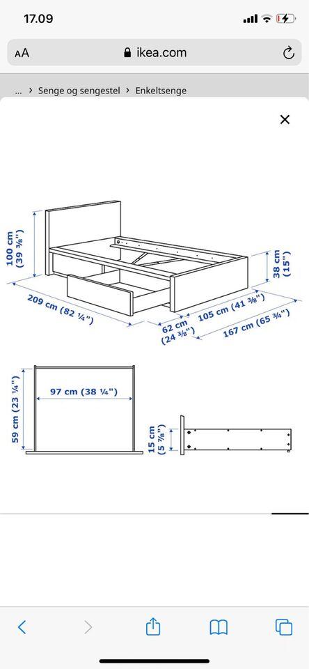Enkeltseng, Ikea