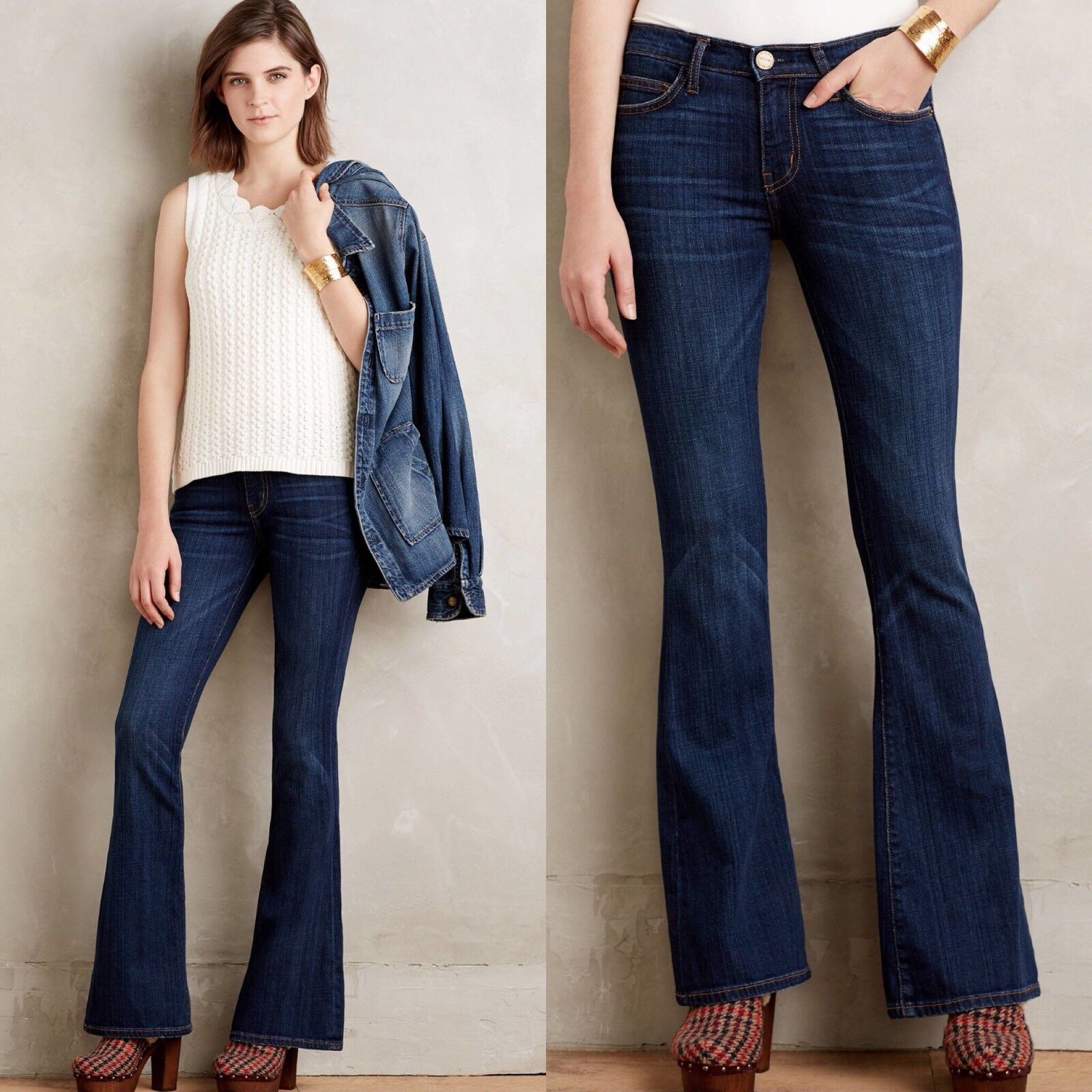 NWT current Elliot the low bell Jean  248