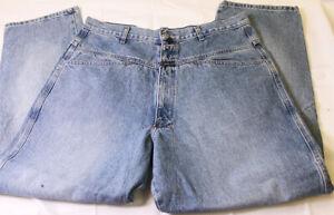 Marithe Francois Girbaud Algodon Para Hombre Talla 38 W 31 L Azul Jean Pantalones 38 31 Ebay