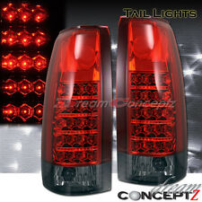 88-98 CHEVY GMC SIERRA CK TRUCK L.E.D TAIL LIGHTS LED TAHOE C/K 1500 2500 3500