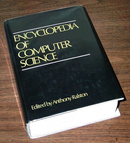 1976 Encyclopedia Of Computers Eniac Edsac Ferranti Cray-1 Turing 1500+pages Goede Smaak